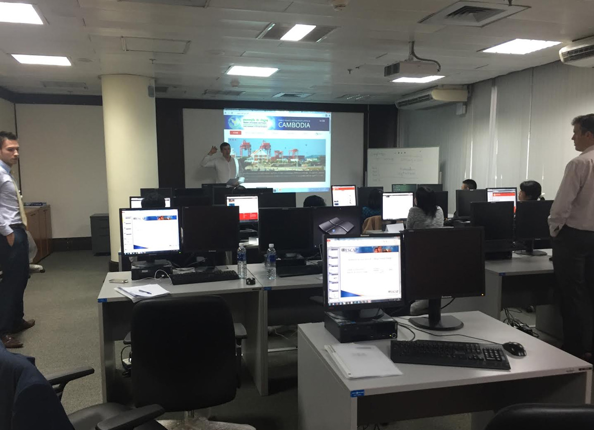 Training provided at UN South East Asia headquarters here in Bangkok